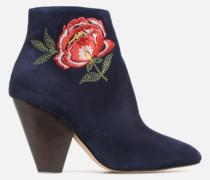 Toundra Girl Bottines à Talons #10 Stiefeletten & Boots in blau
