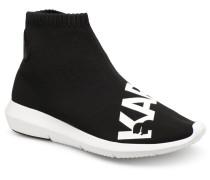 Vitesse Legere Knit Karl Print Sneaker in schwarz