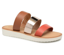 Way Leather Sandal Clogs & Pantoletten in braun