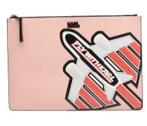 KinJet Pochette Fly with Karl Mini Bag in rosa