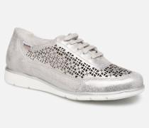 Orlana Perf C Sneaker in silber