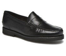 Penny Loafer Slipper in schwarz