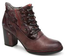 Ela Stiefeletten & Boots in weinrot