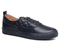 Superquilted Sneaker in blau