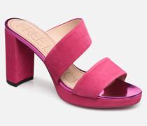 Elisa 4 Asymetric Mule Clogs & Pantoletten in rosa
