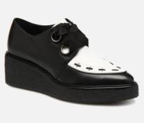 SMITHSON Schnürschuhe in schwarz