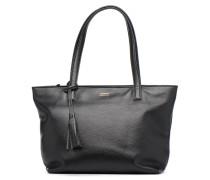 Cabas Eden Zippé Handtasche in schwarz