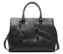 Large Jamie Satchel Handtasche in schwarz