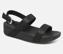 Lottie Glitzy Backstrap Sandal Sandalen in schwarz