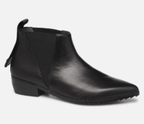 Tek Booties Lo Stiefeletten & Boots in schwarz