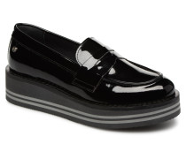MODERN FLATFORM LOAFER Slipper in schwarz