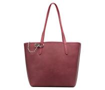 Alison Shopper Handtasche in weinrot