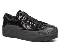 Chuck Taylor All Star Platform Ox Sneaker in schwarz