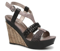 SANDRA Sandalen in schwarz