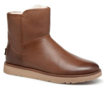 W Abree Mini Leather Stiefel in braun