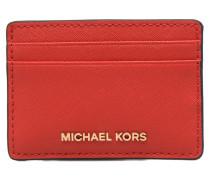 Money Pieces Card Holder Portemonnaies & Clutches für Taschen in rot