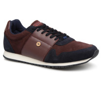 OLIVE23 Sneaker in weinrot