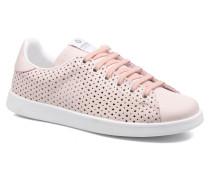 Deportivo Tenis Perforado Sneaker in rosa