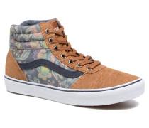 Milton Hi W Sneaker in braun