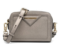 Klassik Camera Bag Handtasche in silber