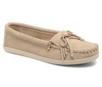 Newport Moc Slipper in beige