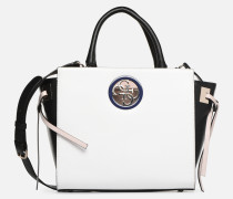OPEN ROAD SOCIETY SATCHEL Handtasche in weiß