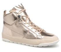 MIASSI Sneaker in goldinbronze