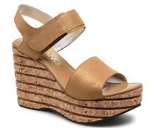Eny 7 Sandal Velcro Sandalen in goldinbronze