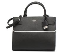 Cate satchel Handtasche in schwarz