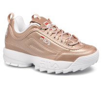 Disruptor Metal Sneaker in goldinbronze