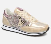 Cometa Glitter Sneaker in goldinbronze