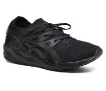 Gel Kayano Trainer Knit W Sneaker in schwarz