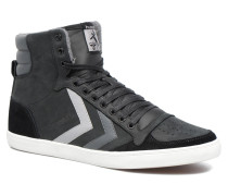 Slimmer Stadil Duo Oiled High Sneaker in schwarz