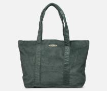 CORDUROY TOTE Handtasche in grün