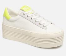 Twin Sneaker BiginCanvasinPlexi in weiß