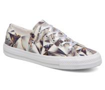 Chuck Taylor All Star Gemma Hi Graphic Sneaker in silber