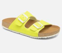 Waraji NE60 Clogs & Pantoletten in gelb