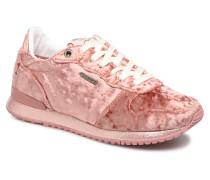 GABLE VELVET Sneaker in rosa