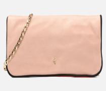 Crossbody suède Handtasche in beige
