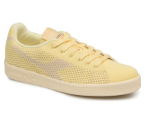 GAME WEAVE W Sneaker in gelb