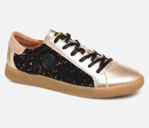June C Sneaker in goldinbronze