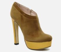 Amalia Stiefeletten & Boots in beige