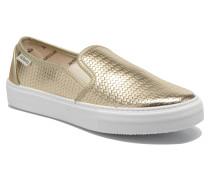 Slipon Metalizada Sneaker in goldinbronze
