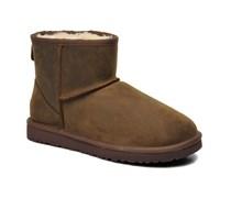 Classic Mini Leather Stiefeletten & Boots in braun
