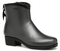 Miss Juliette Bottilon Fur Stiefeletten & Boots in grau