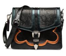 Crossbody Boucle Handtasche in schwarz