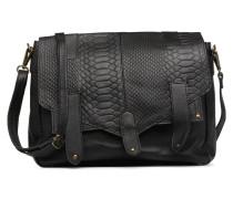 Joy Leather Bag Handtasche in schwarz