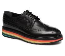 Grand Stripe Schnürschuhe in schwarz