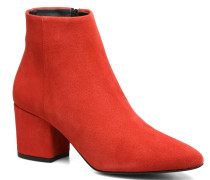 ASTRID LEATHER BOOT Stiefeletten & Boots in rot