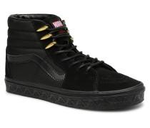 SK8 Hi W Sneaker in schwarz